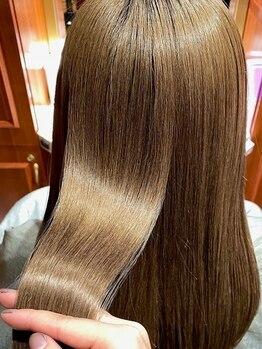 ヘア ヴィルゴ 吉祥寺(hair Virgo)の写真/《加工なしでこのツヤ髪》TOKIOテクニカルサロンでしか扱えない〔TOKIOハイパーインカラミ〕もお取扱い☆