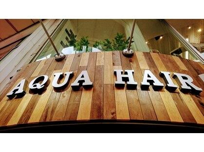 アクア ヘアー(AQUA HAIR)の写真