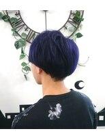 ヘアーサロン エール 原宿(hair salon ailes)(ailes 原宿)style401 サイドパートショート☆ブルージュ