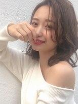 カヤックバイハニー 渋谷店(KAYAK by HONEY)【KAYAK】小室里奈 20代30代40代ひし形ボブ