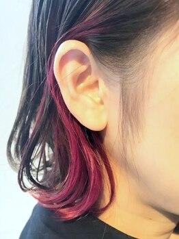 リタ ヘアー(Rita hair)の写真/[上本町/谷町9丁目]今日の気分は何色?あなたらしさに遊び心を+したトレンドカラーで新たな自分が見つかる