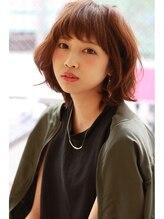 リッシュグランデ(riche GRANDE by CHANDEUR)☆リッシュグランデ☆大人可愛いシースルーバング