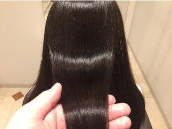 美容室ベンティ 藤枝駅前店(venti)の写真/貴方のなりたい髪質・ダメージに合わせたトリートメントを3種ご用意☆素髪から潤いツヤのある美しいヘアに!