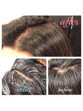 頭皮にカラー剤をつけないカラーリングテクニック「ゼロテク」で頭皮へのダメージ&ストレスフリー