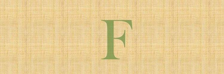 美容室 Fのサロンヘッダー