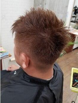 ヘアリッヂ 相模原店 hair Ridgeの写真/【19:00まで営業】仕事帰りにも立ち寄れる!!【カット¥1980】メンズのお客様も通いやすいと好評-hair Ridge-