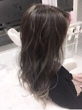 ヘアサロン ブランチ(Hair salon Branch)ハイライト×グレージュ×20代30代大人かわいいゆるふわスタイル