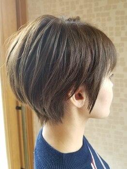 ヘアーデザイン カグラ(Hair design Kagura)の写真/「ショートスタイルが似合うか不安…」という方もOK!丁寧なカウンセリングで理想のスタイルをご提案♪
