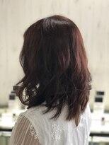 ☆2018秋 新色☆暗め×透明感×レッド系ブラウン