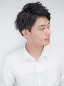 メンズウィル バイ スヴェンソン 札幌スタジオ(MEN'S WILL by SVENSON)の写真/【メンズ専門・個室】SVENSONのボリュームカットは必見!独自のカット技術で根元の立ち上がりを実感!