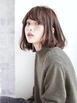 ウル(HOULe)【HOULe】リラクシーAラインボブ【大西絢子】