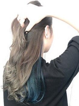 コピーヌ 高田馬場店(Copine)の写真/《イルミナカラー+TR3層¥7560》大人気イルミナカラーでダメージレスに透明感溢れる髪色と艶感が叶う★