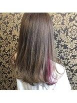 ヘアー コパイン(HAIR COPAIN)愛されピンクなアクセサリーカラー
