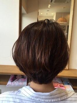 ツムギ(tsumugi HAIR DESIGN)の写真/スタイリングを保つのが苦手な方必見!tsumugiのカットなら朝の忙しい時間も短縮でき、簡単に理想のStyleへ!