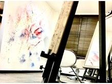 アトリエフローリッシュ 仙台店(atelier Flourish)の雰囲気(インスタ映えしそうな店内◎)