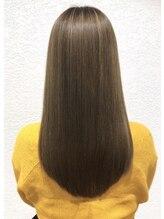 髪質改善☆【サイエンスアクア】素髪のような扱いやすい髪へ復元します♪
