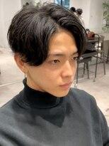 ザ サードヘアー 津田沼(THE 3rd HAIR)マイキー黒髪 センターパート