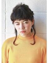フィッシュボーンの編みおろしアレンジ