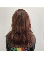 ヘアーアイストゥーレ(HAIR ICI TRE)韓国風オレンジベージュカラー