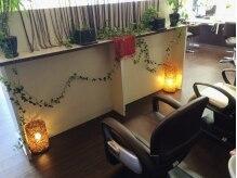 ヘアークラブ 板橋店(HAIR CLUB)の雰囲気(落ち着いた雰囲気のシャンプーブース◎緑のある癒しの空間☆)