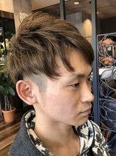 ヘアーステーショントップ(hair station TOP)カジュアルツーブロック