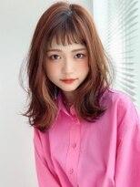 《Agu hair》オン眉×くびれ外ハネセミ