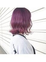 ルッツ(Lutz. hair design)ラベンダーパープル