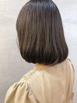 ツリー(Tree. Hair & Spa)透明感カラー ミディアムボブ