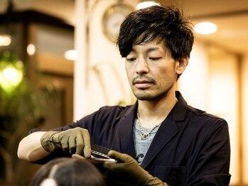 リピーヘアーデザイン(Repy Hair Design)の写真/【リピート率90%】のカラーの秘密は…「手早く、ムラなく、キレイに」塗ること!!艶を手に入れるならRepy☆