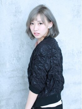 グランスール(grande soeur)の写真/【豊田】こだわりのトリートメントカラー♪誰もが憧れる外国人風の透明感と輝きを手に入れて☆