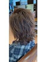 レフ ヘア デザイン(Reff.hair design)【クール】無造作ウルフ