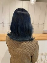 ルッツ(Lutz. hair design)blue color