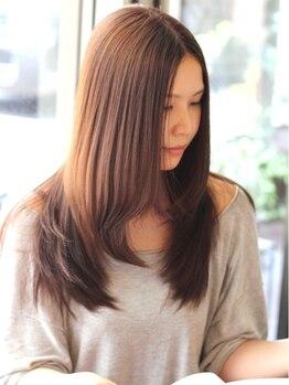 アング(Ang)の写真/1人1人の髪質・髪型に合わせてコントロール可能な縮毛矯正がAngは得意です!!