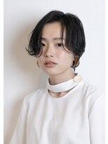 【Mauloa】黒髪スタイル 大人可愛い ワンサイドショート