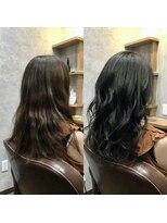 セブン ヘア ワークス(Seven Hair Works)[カラーエステ]大人なカラー(ブルーブラック)