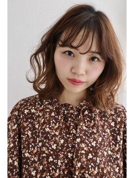 リジェール 黒川店【ドライヴカット】ボブ×マロンベージュ