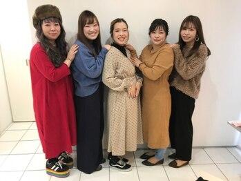 ヒビカ(HIBIKA)の写真/【全スタッフが女性のサロン】女性ならではの細やかなサービス・繊細な技術・似合うへ導く提案力が大好評!