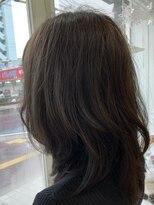 クラシコ ヘアー(CLASSICO hair)ミディアムレイヤー×寒色系ミルクティー