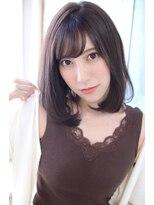 ジュール(Jule)モテ前髪の色っぽボブ◎大人可愛い透明感ボブディ 神戸