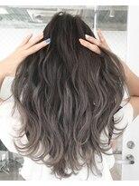 バンクスヘアー(BANK'S HAIR)veil gray highlight balayage