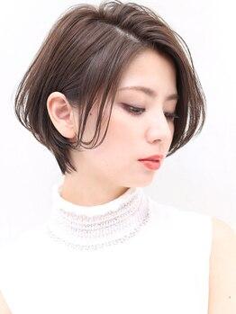 ヨファ ヘアー(YOFA hair)の写真/【川西能勢口/カット¥2000】ショートとボブ、まかせて。「私らしい」らくちんオシャレStyle提案♪