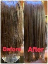 各種悩みに対応できる3種の髪質改善メニュー!髪質、髪型に合わせたあなただけの髪質改善を。。。