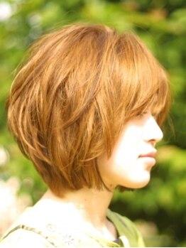ビースト フォー ヘア(BEAST for hair)の写真/ツヤ×軽やかさの両方を実現するヘアカラーが魅力的☆一人ひとりに合う色味と上品なグレイカラーが◎