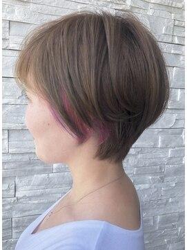 アールトゥーヘアー(art To Hair) ショート×ユニコーンカラー