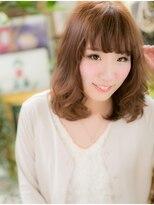 *+COVER HAIR+*…ふんわりセミディa