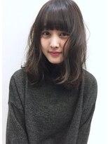 ☆blues☆モテ愛されアンニュイパーマ☆くびれミディ☆暗髪