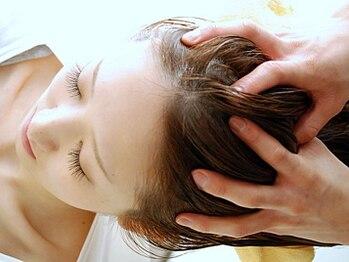 エルベ 内原店(elve)の写真/【クリームバス+カット¥8800~】頭皮環境をリセットしリフトUPや美髪をGET♪ショートTypeも◎【水戸/内原】