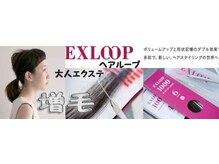 新技法★増毛ヘアーループ500本¥11000