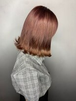 ソース ヘア アトリエ 京橋(Source hair atelier)【SOURCE】アプリコットピンク