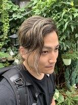 外国人風カラー2ブロスタイル【ビードロ 下北沢駅】